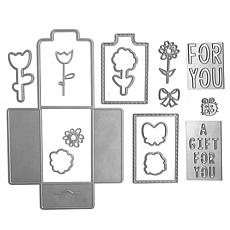 The Stamps of Life For You Gift Card Holder Die Set