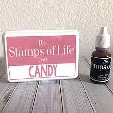 The Stamps of Life Ink Pad and Refill - Candy