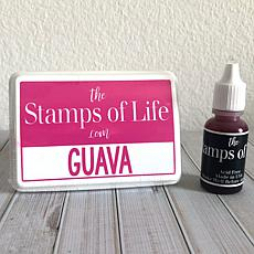 The Stamps of Life Ink Pad and Refill - Guava