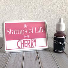 The Stamps of Life Ink Pad and Refill - Pool