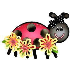 The Stamps of Life Ladybug Cute Fold It Die Set