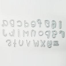 The Stamps of Life Punch Lowercase Alphabet Die Set