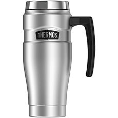 Thermos™ 16 oz. Stainless King Vacuum-Insulated Travel Mug - Silver