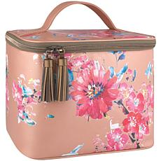Thermos Patina Vie Glam Lunch Tote (Posy Shimmer, Fits 9 Cans)