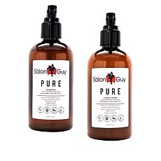 TheSalonGuy PURE Quinoa Protein Shampoo and Conditioner Duo Set