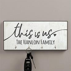 This Is Us Personalized Key Hanger