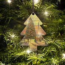 Thomas Kinkade Symbols of Freedom Tree Hanging Acrylic