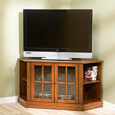 """Thomas"" Walnut Corner Media Stand"