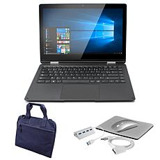 "Thomson Neo 360 X 13.3"" Convertible Notebook with Carry Case and Ac..."