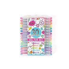 Three Cheers For Girls (3C4G) 30-Piece Gel Pen Set