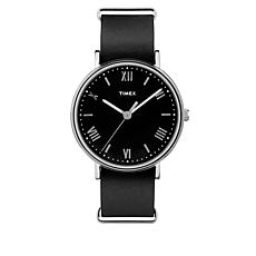 Timex Men's Southview 41mm Black Leather Strap Watch