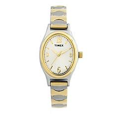 Timex Women's 2-Tone Classic Expansion Band Dress Watch