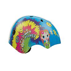 TITAN Flower Power Princess BMX and Skateboard Helmet 11 Vents - Small