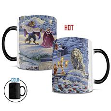 TK Disney Beauty & Beast Winter Enchantment Heat-Sensitive MorphingMug