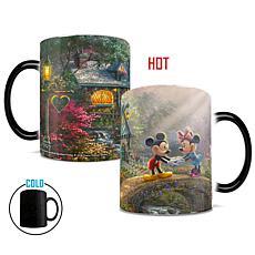 TK Disney Mickey &Minnie Sweetheart Bridge Heat-Sensitive Morphing Mug