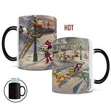 TK Disney Mickey's Victorian Christmas Heat-Sensitive Morphing Mug