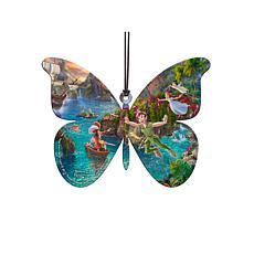TK Disney Shaped Acrylic Hanging Print - Peter Pan's Never Land