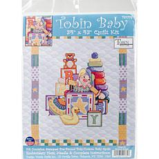 Tobin Stamped Quilt Cross Stitch Kit - Toys