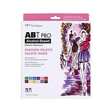 Tombow ABT PRO Set Art Markers 12-pack - Fashion