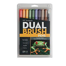 Tombow Dual Brush Pen 10-pack - Secondary
