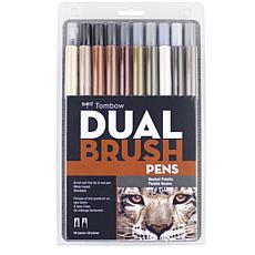Tombow Dual Brush Pen Set 20-pack - Neutrals
