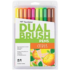 Tombow Limited Edition Dual Brush Pen Art Markers 10-pack