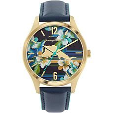 Tommy Bahama Men's Island Time Marlin Blue Leather Strap Watch