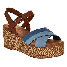 TOMS Willow Espadrille Wedge Sandal
