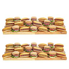 Tony Little Body By Bison 16-count 4 oz. Burgers & 24-count 2 oz. Dogs