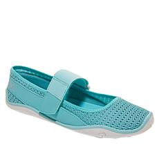 Tony Little Cheeks® Aqua Barefoot Mary Jane Shoe