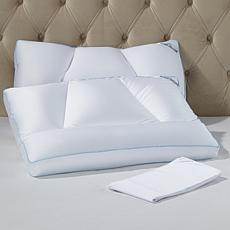 Tony Little DeStress® Micropedic Pillow 2-pack w/2 Pillowcases - King