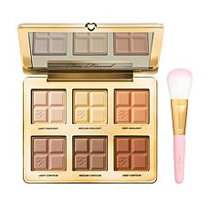 Too Faced Cocoa Contour Palette with Flatbuki Brush