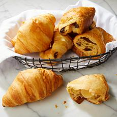 TopShelf Cuisine 20-count Large French Butter and Chocolate Croissants