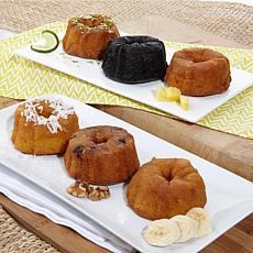 Tortuga 6-piece Rum Cake Gift Set - Receive in November