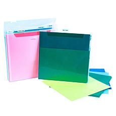 """Totally-Tiffany 12.75"""" x 12.75"""" Extra Large Fab File 2-pack"""