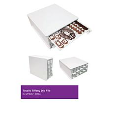 Totally-Tiffany Desk Maid Die File and Adhesive Strips