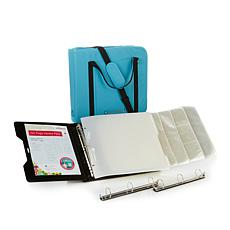 Totally-Tiffany™ ScrapRack Starter Pack and Craft Binder with DVD