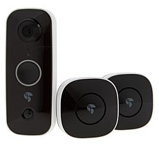 Toucan Wireless Video Doorbell with 2 Chimes