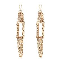Touch of Cyn Chain-Link Dangle Earrings