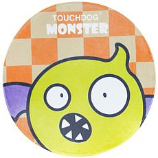 Touchdog Cartoon Flying Critter Monster Rounded Cat and Dog Mat