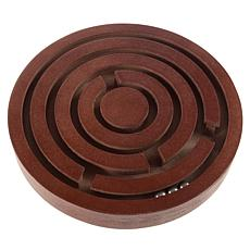 Toy Time Classic Wooden Tabletop Labyrinth Game