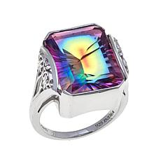 Traveler's Journey 10.78ct Starlight Quartz Ring