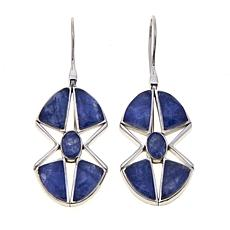 Traveler's Journey Sodalite Doublet Star Earrings