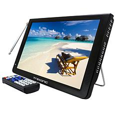 """Trexonic Ultra Lightweight Rechargeable Widescreen 12"""" LED Portable..."""