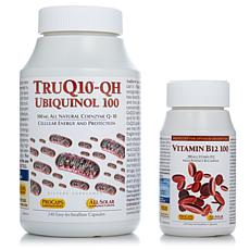TruQ10 QH-100 with Vitamin B12-100 - 240 + 240 Caps