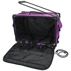 TUTTO Machine On Wheels Case - Purple