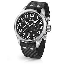 TW Steel Volante Men's Black Dial Black Nylon Strap Watch