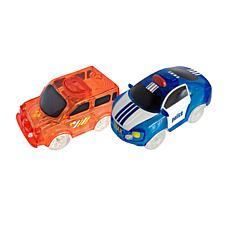 Twister Tracks Set of 2 Add-On Emergency Series Car Set