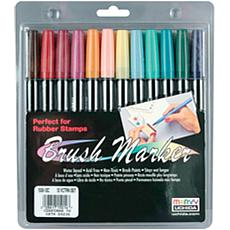 Uchida Brush Art Marker Set - 12-pack - Victorian
