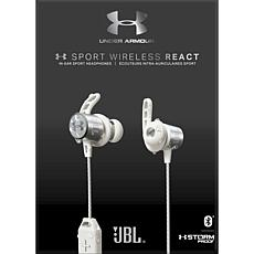 Under Armour REACT Sport Wireless Waterproof Headphones